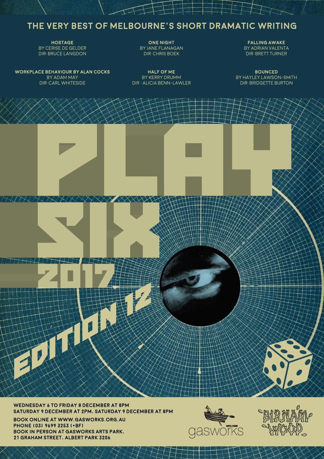 Play Six A3 Poster