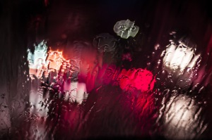 red-glass-rainy-rain